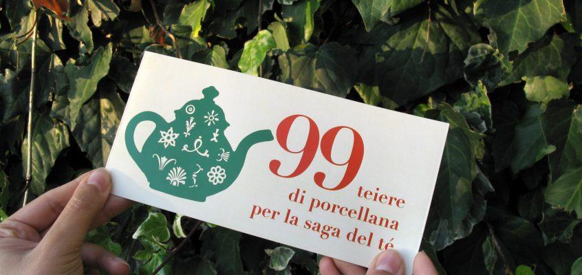 99 teiere di porcellana per la saga del té.