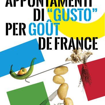 "APPUNTAMENTI DI ""GUSTO"" PER GOÛT DE FRANCE"
