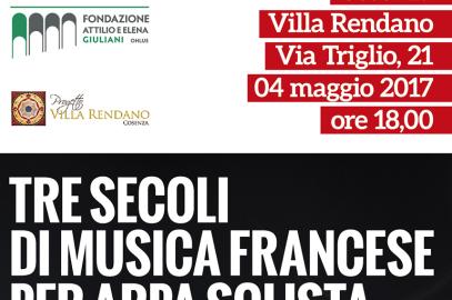 Tre secoli di musica francese per arpa solista. Concerto – conferenza del M° Rosalba Cirigliano.