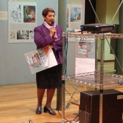 La presidente dell'Alliance Française Irene Mossuto.