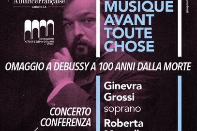 De la musique avant toute chose. Omaggio a Debussy a 100 anni dalla morte.