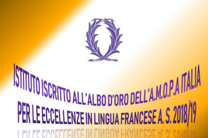 Premiazione AMOPA (Association De l'Ordre des Palmes Académiques).