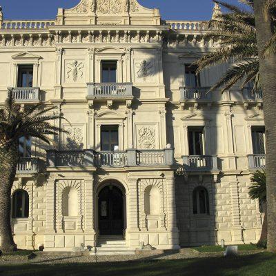 La suggestiva cornice di Villa Rendano.